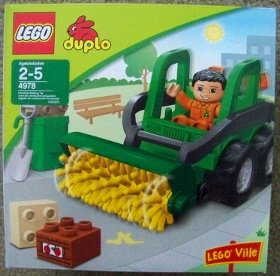 Lego 4978 duplo ROAD SWEEPER legoville ville truck NEW