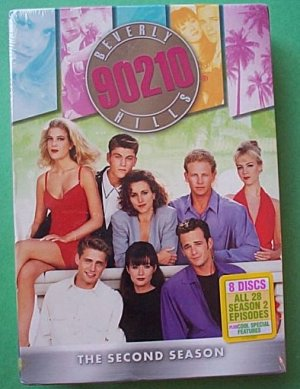 90210 Beverly Hills: The Second Season DVDS 2 - Sealed