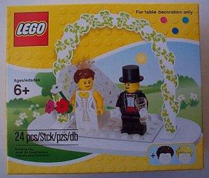 LEGO Bride and Groom minifigure Wedding Set NEW