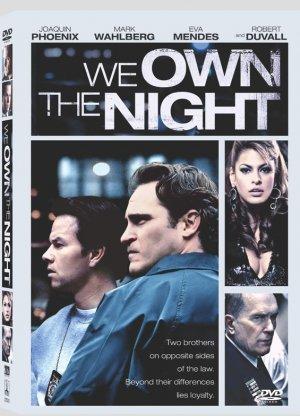 We Own the Night (2007) DVD Drama Starring Joaquin Phoenix, Mark Wahlberg, Eva Mendes