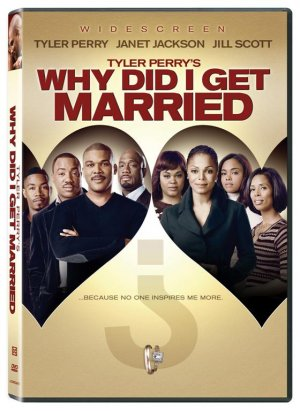 Tyler Perry's Why Did I Get Married? (2007) DVD COMEDY Starring Janet Jackson, Jill Scott