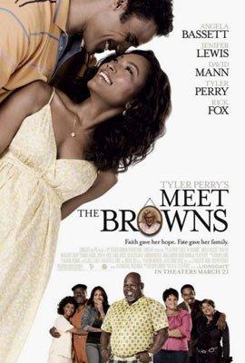 Tyler Perry's Meet the Browns (2008) DVD COMEDY Starring Tyler Perry, Angela Bassett