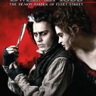 Sweeney Todd: The Demon Barber of Fleet Street (2007) DVD HORROR Starring Johnny Depp