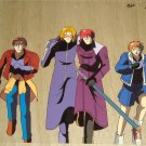 Weib Kreuz group cel of Ken,Youji,Aya and Omi