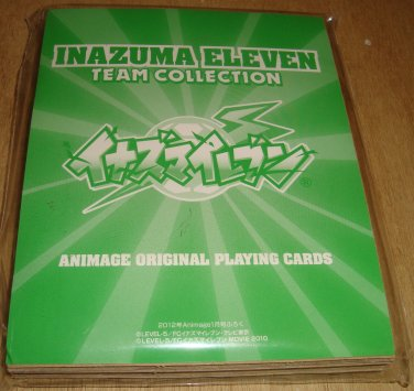 Japanese Trump Cards Inazuma Eleven Team Collection