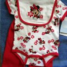NEW Disney *MINNIE MOUSE* 3 piece set -  3-6months