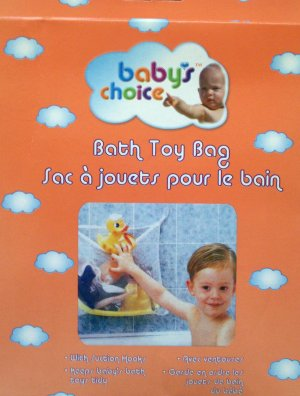 New!! - BATH TOY BAG with Suction Hooks