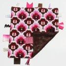 Tiggle - pink/brown modern damask