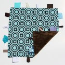 Tiggle - Blue & Brown Geometric