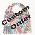 Bebe' Bib - CUSTOM GIRL #5 - YOU CHOOSE