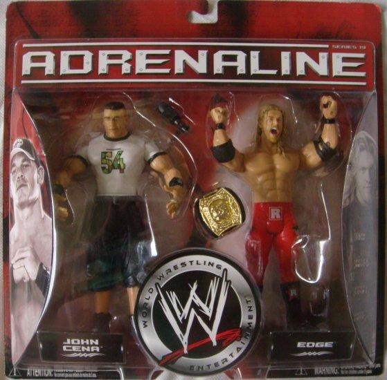 Adrenaline WWE John Cena and Edge