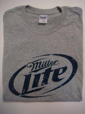 Miller Lite Tee Shirt Medium