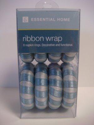 Essential Home Ribbon Wrap Napkin Rings
