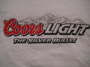 Coors Light Tee Shirt X - Large