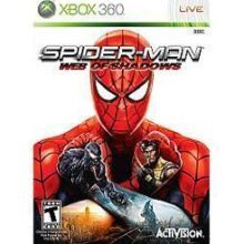 Xbox 360 Spiderman Web of Shadows