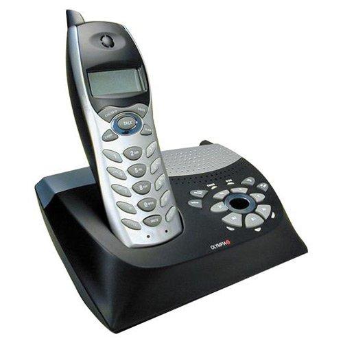 Olympia OL5810 5.8 GHz Basic Analog Phone With Digital Answering Machine