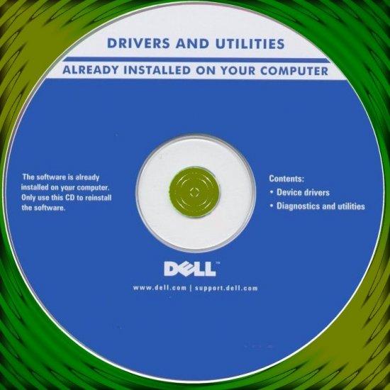 Dell Latitude D810 D400 D610 100L Drivers & Utility CD