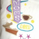 Embroidered Retro Moms Diner Dish Kitchen Towel