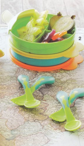 TupperCare Divided Bowl and Cutlery Set