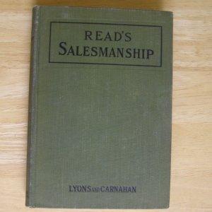 Read's Salesmanship by Harlan Eugene Read HC