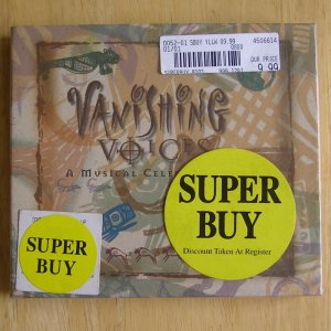 Vanishing Voices: A Musical Celebration CD