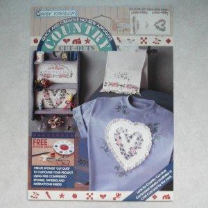 NEW Daisy Kingdom No-Sew Fabric Applique - Home Sweet Home