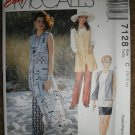 McCall's Sewing Pattern 7128 Misses Size 10 12 14 Vest Tunic Pants Skirt Uncut