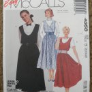 McCall's Sewing Pattern 4358 Misses Size 8 10 12 Jumper Uncut