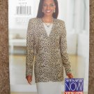 Butterick See and Sew Sewing Pattern 3831 Misses Size 12 14 16 Easy Dress Jacket Uncut