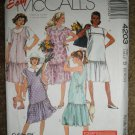 McCall's Sewing Pattern 4203 Misses Size 8 10 12 Maternity Dress and Jumper Uncut