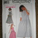 Simplicity Sewing Pattern 9475 Misses Size 10 12 14 Loose Fitting Jumper Uncut