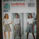 Butterick Sewing Pattern 6073 Misses Size 12 14 16 Easy Split Skirt Two Lengths