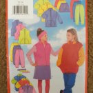 Butterick Sewing Pattern 5171 Girls Size 12 14 Jacket Vest Skirt Pants Headband Uncut