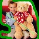Bear Holiday Huggable Bear Cute Big Soft & Cuddly 22 in