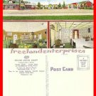 Post Card NC Jacksonville, NC Deluxe Motor Court Unused Color