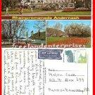 Post Card Europe GERMANY Rheinpromenade Andernach Germany Herst Schoning & Co'91