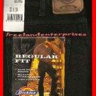 Mens Pants Dickies Denim Jeans ~BLACK~ Size 33 X 34 NWT