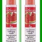 Make Up Lip Balm Naturals Watermelon Flavor .15 oz (Two) NEW