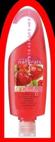 NATURALS Strawberry & Guava Shower Gel  5 fl oz ~ NEW ~