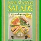 Four Seasons Salads By Jackie Burrow 1985 Paperback GC