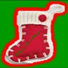 Christmas Holiday Stocking/Boot Ornament ~ NEW ~ 5 inches Long