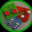 Christmas Earrings Holiday Surprises Earring Trio 3 pairs