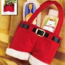 "Christmas Holiday Felt Holder for Minis~Tree Ornament ~Sz6 1/2"" X 4 1/2"" X 1 3/4"