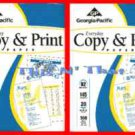 Copy Printer Paper 2 Reams @500 ct =1000 Ct NEW 8.5 X11 Georgia Pacific Copy Ppr