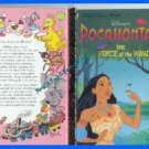 Book LGB Disney's Pocahontas The Voice of the Wind 1995