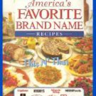 Book In the Kitchen w/America's Favorite Brand Name Recipes