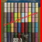 Crafts Thread 100 Spools Polyester w/Sewing Kit-Scissor-Buttons ~10 Yd each~ NEW