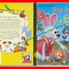 Book Peter Cottontail and the Great Mitten Hunt by Laura P Norton 2000 HardCover