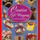 Book Creative Gift Wrapping Nancy Wall Hopkins 1991 Paperbak