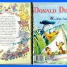 Book Collectible LGB Disney's Donald Duck Toy Sailboat 1954